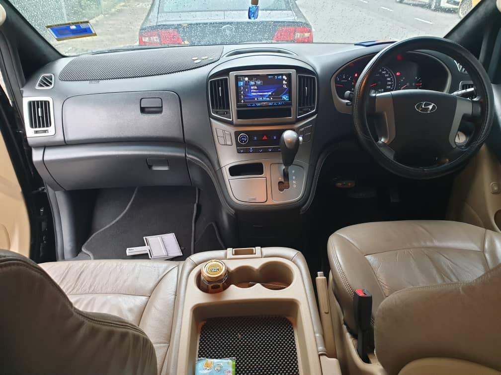 SEWA BELI>>HYUNDAI STAREX 2.5 AUTO GRAND ROYALE 1 POWER DOOR 2017