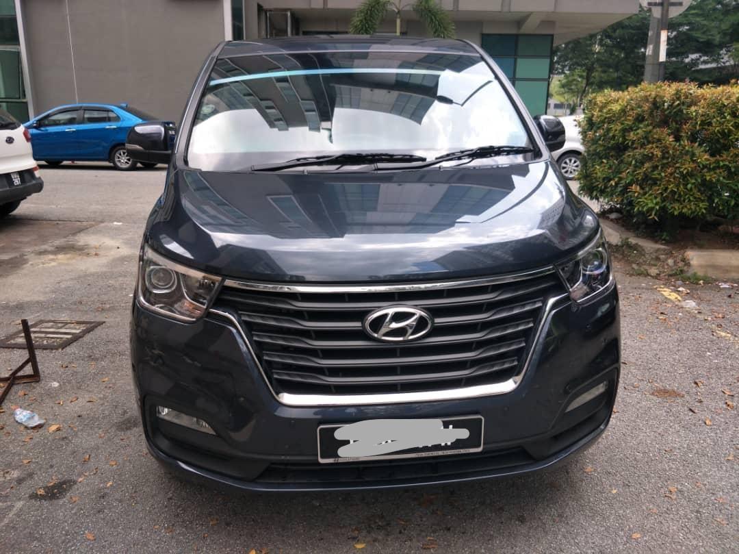 SEWA BELI>>HYUNDAI STAREX 2.5 AUTO NEW FACELIFT 2018