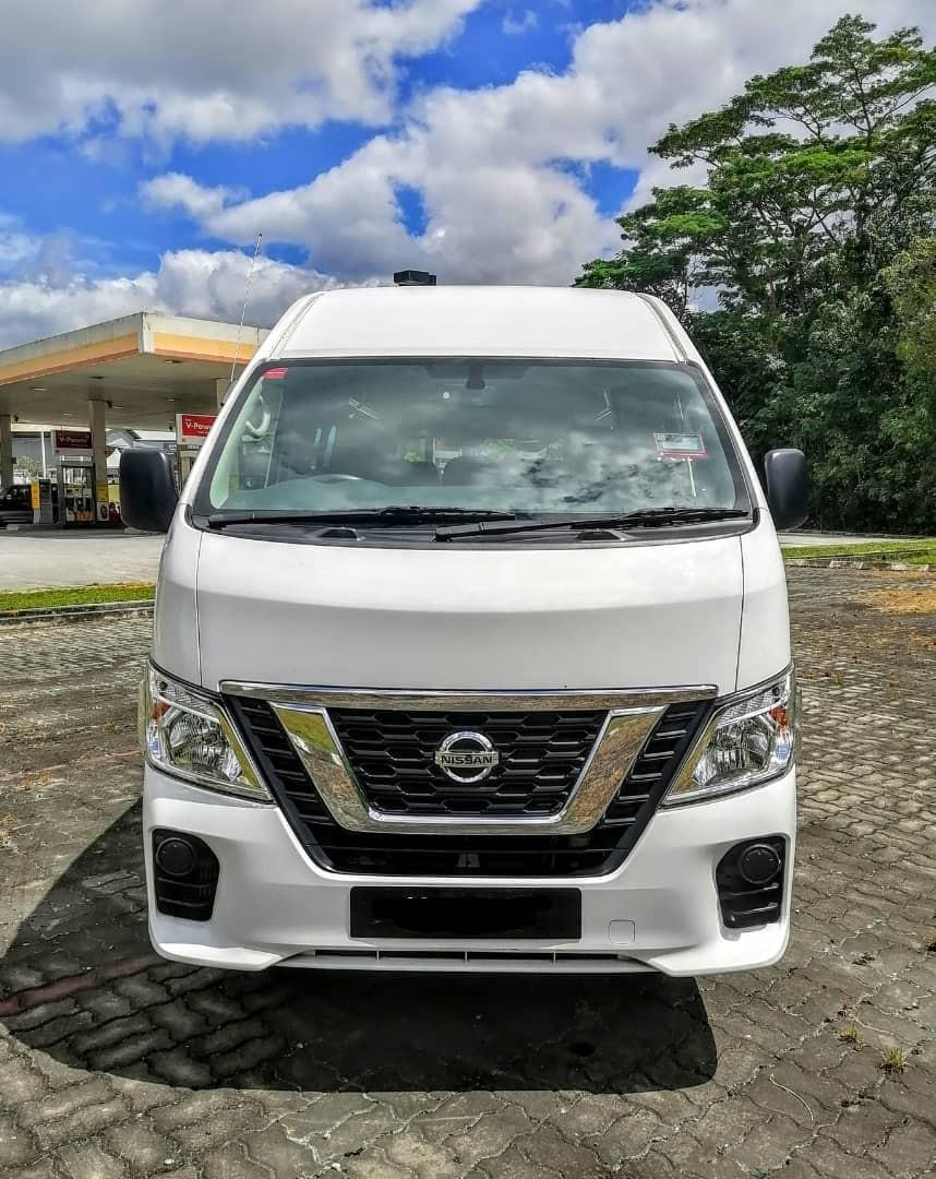 SEWA BELI>>NISSAN URVAN NV350 (MANUAL) DIESEL 3.0 16 SEATERS 2018
