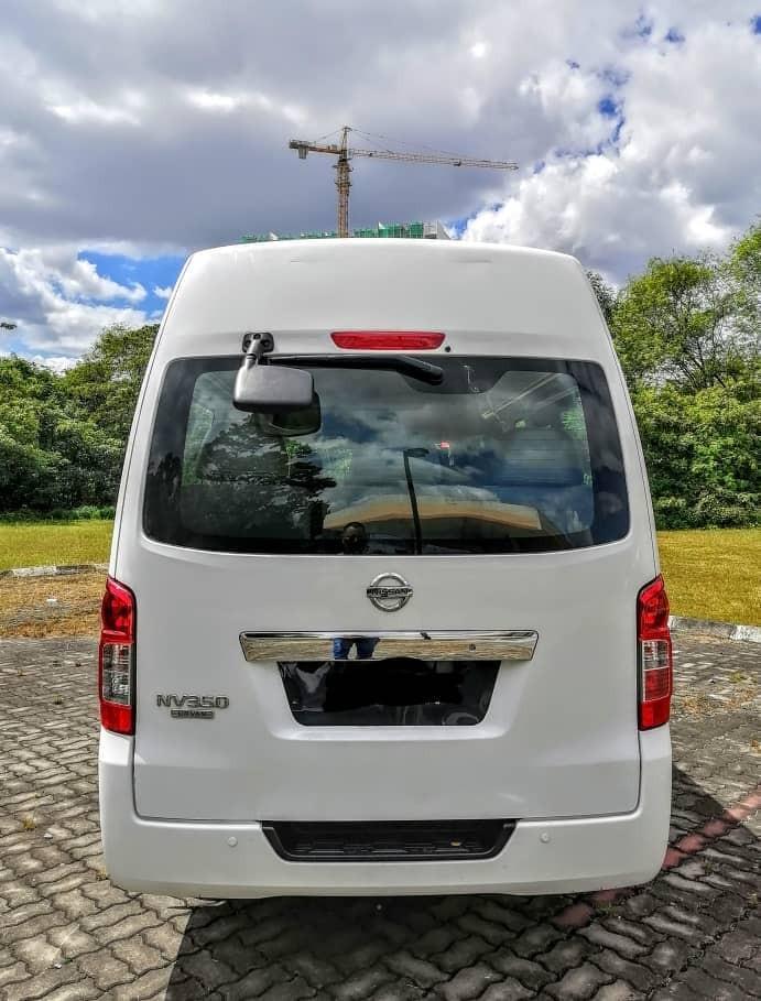 SEWA BELI>>NISSAN URVAN NV350 (MANUAL) DIESEL 3.0 16 SEATERS 2018