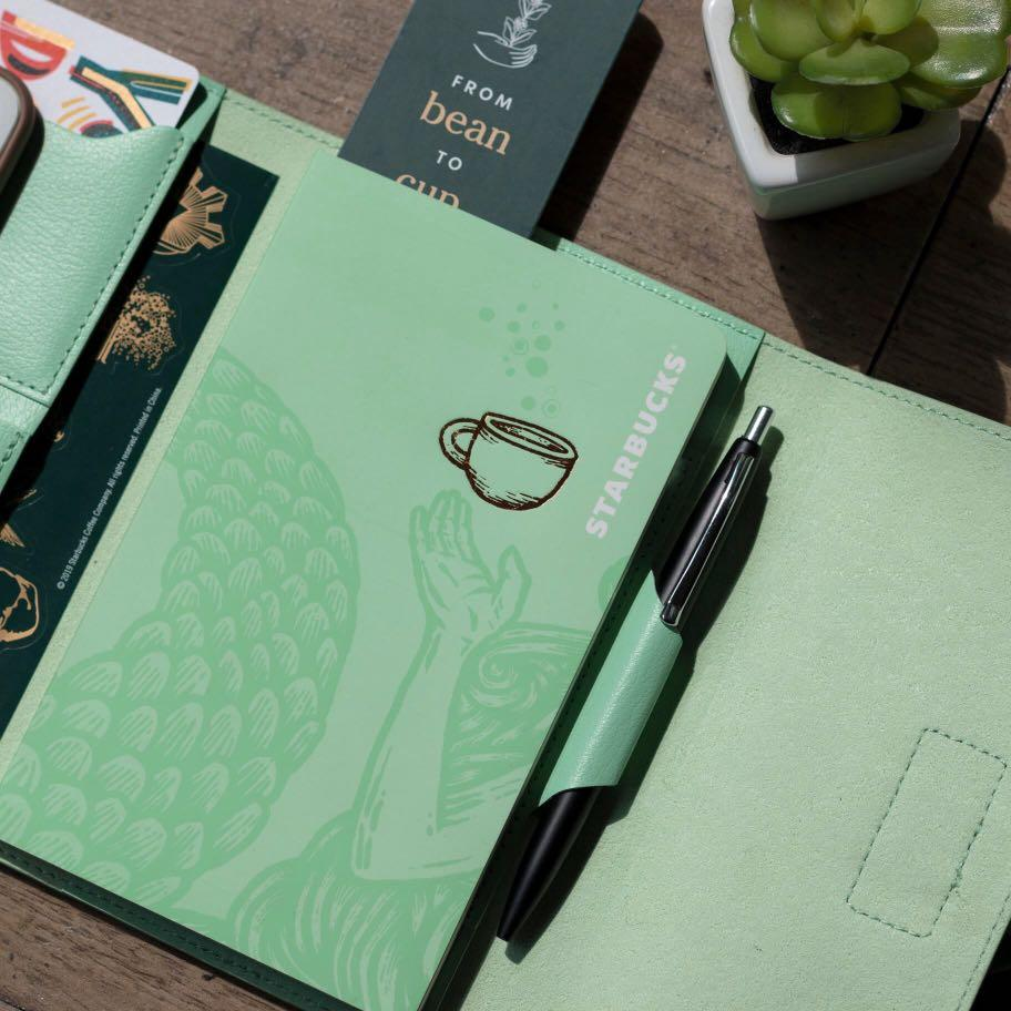 Starbucks Planner or Organizer 2020  (Mint Green or Coffee Brown)