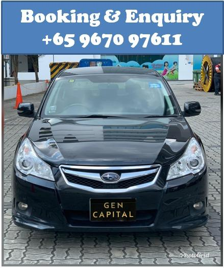 Subaru Legacy @ Much lower rental rates compared to Grab Rentals!
