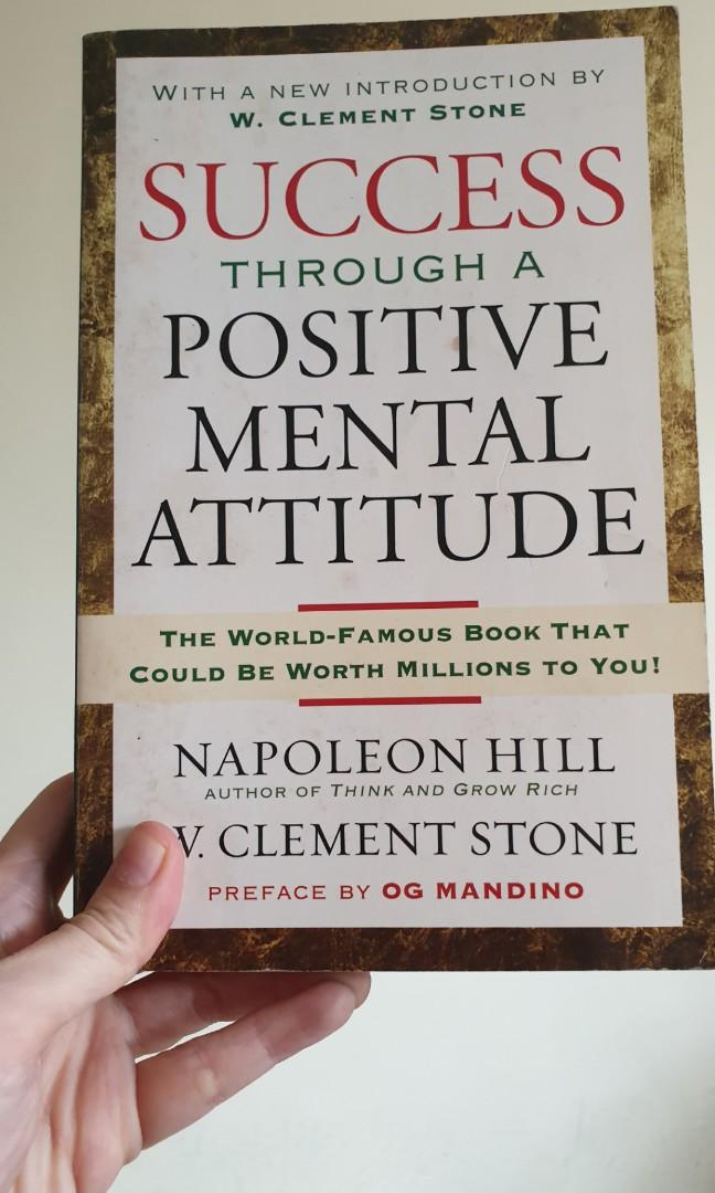 Success Through a Positive Mental Attitude by Napoleon Hill and Clement Stone