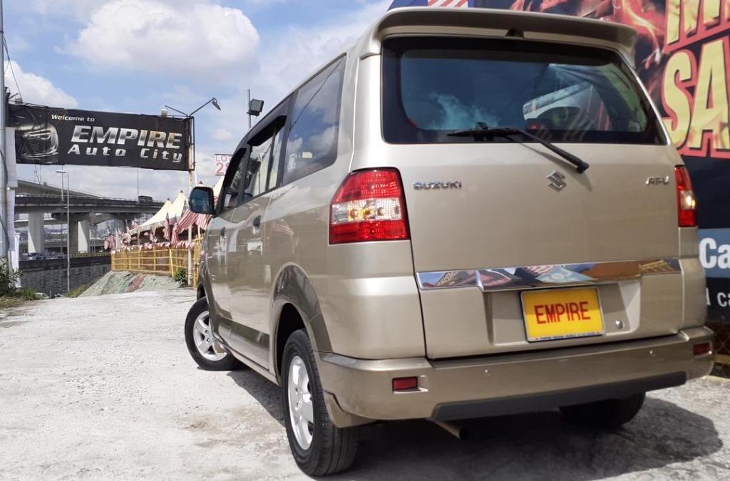 SUZUKI APV 1.6 L (A) GLS MPV 8 SEATERS !! FRONT WHEEL DRIVE !! NEW FACELIFT !! PREMIUM HIGH SPECS !! ( WXX 2863 ) 1 CAREFUL OWNER !!