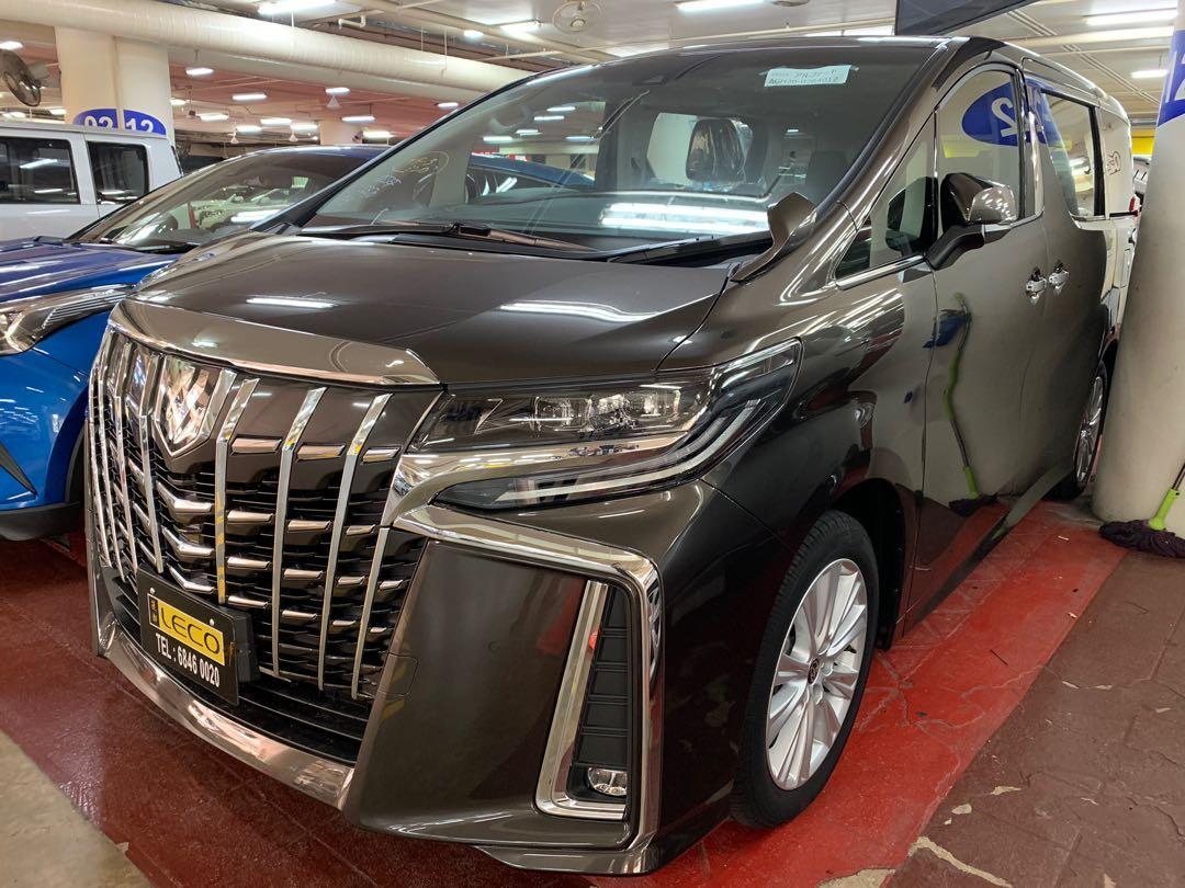 Toyota Alphard 2.5 S model 7 seater