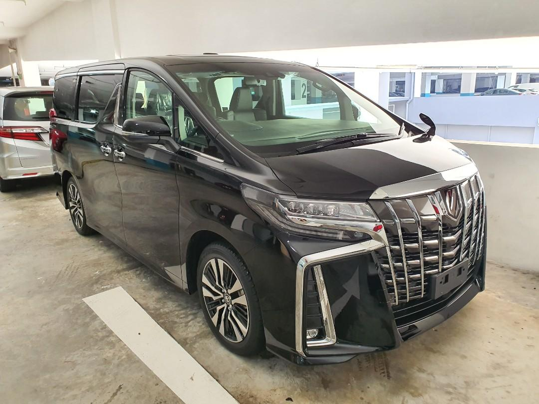 2020 Latest Toyota Alphard 2.5 SC High Specs (3 LED)