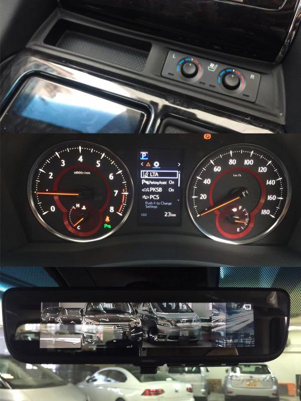 Toyota Vellfire 3.5 Z G Moonroof (A)