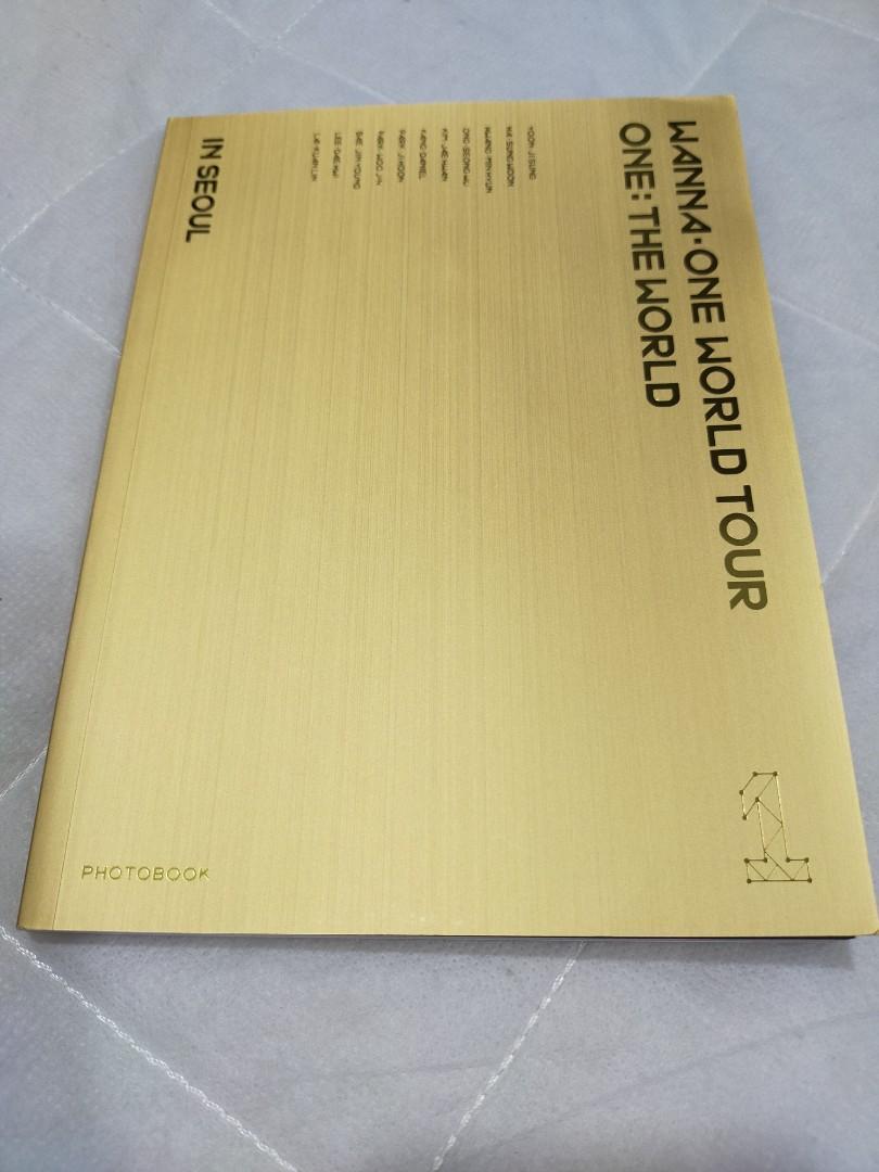 WTS Wanna One World Tour: One The World Blu-ray Photobook