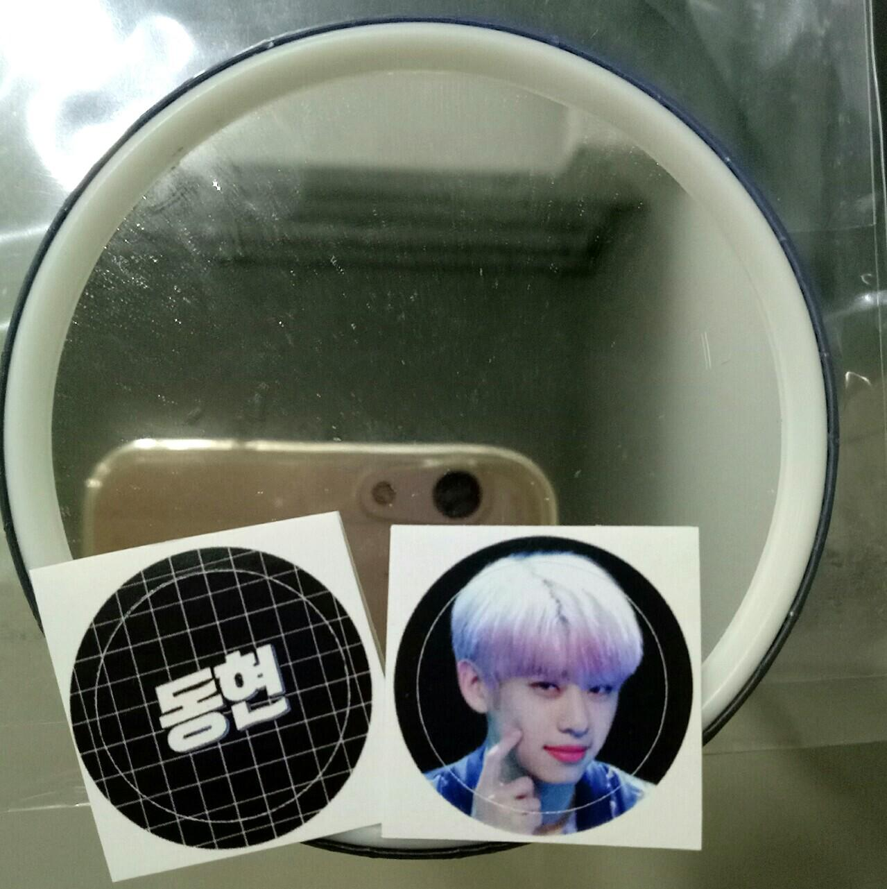 [WTS]AB6IX KIMDONGHYUN FANART HANDMIRROR by @/Eternal Visual