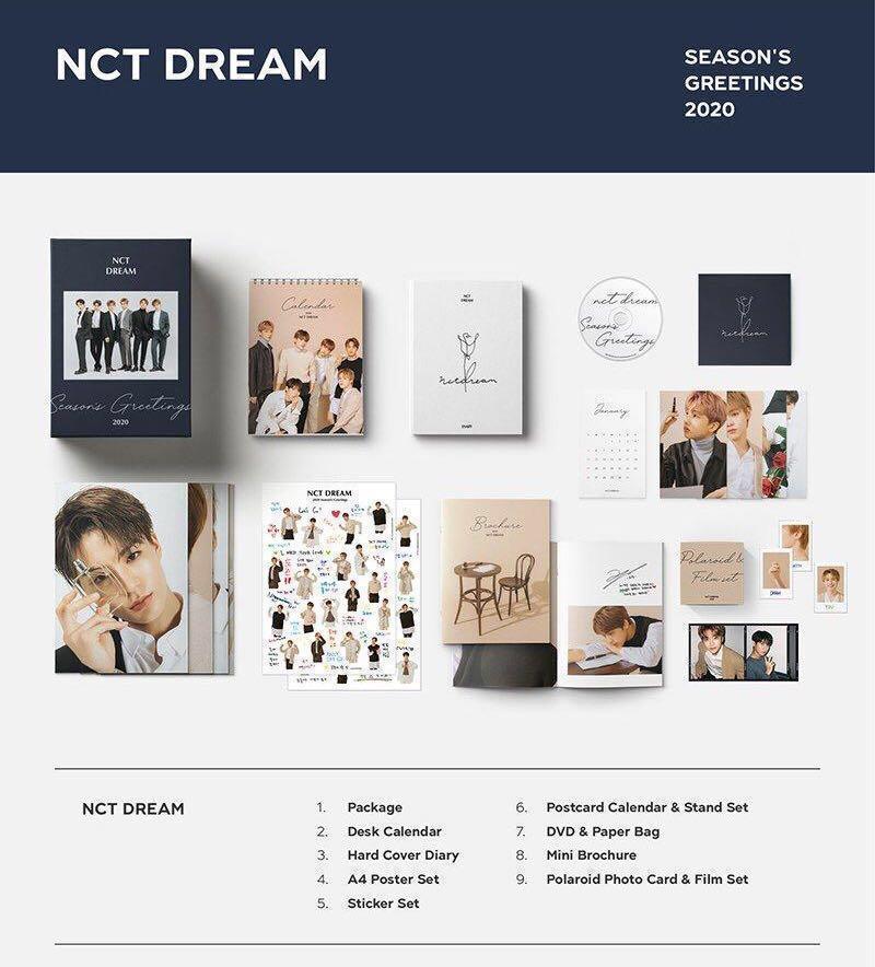 [WTS/sharing with POB] NCT DREAM SEASON GREETINGS 2020