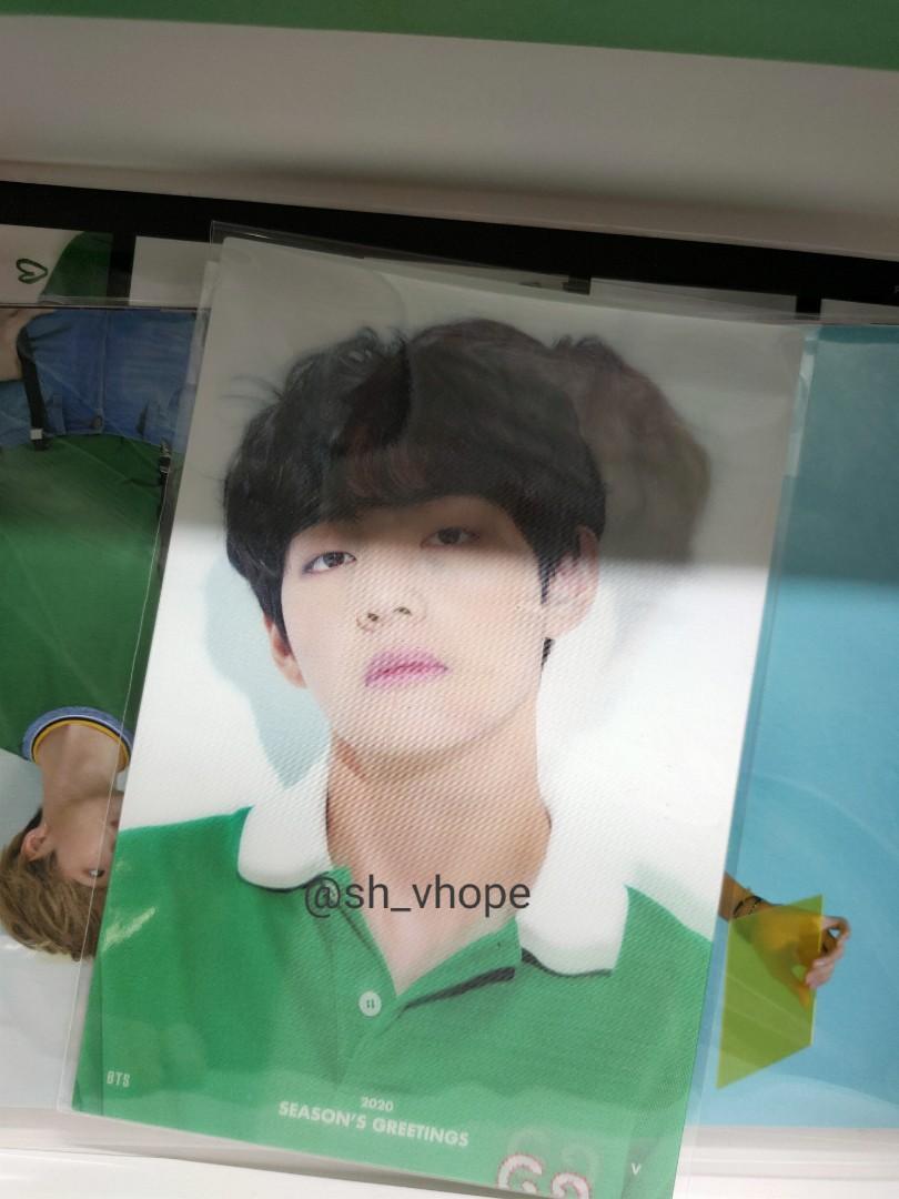 [WTT] BTS Taehyung lenticular card to Hoseok [RESERVED]