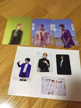 Monsta x photocard sell or trade