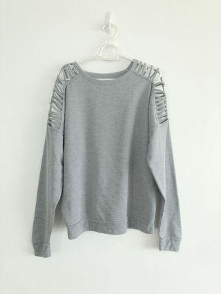 Grey Sweater/Pullover