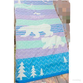 降降降 超值出清 全新 北極熊 雲朵 聖誕樹 100%純棉 可愛浴巾