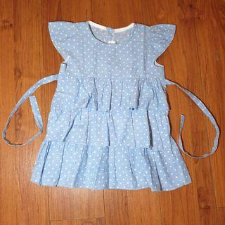 Dress Anak polkadot  merk Hipo Baby