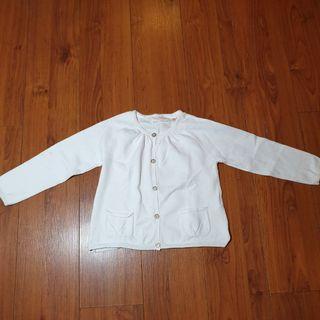Cardigan / jaket putih Zara