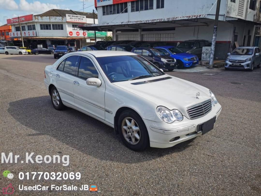 2004TH🚘MERCEDES BENZ C200K 1.8AT JUAL CASH SHJ Rm16,800 Only‼ LowestPrice InJB 🎉Call📲KeongForMore‼