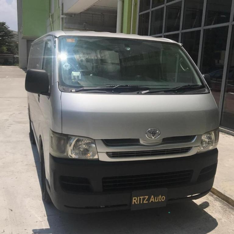 2008 Toyota Hiace 3.0 Manual Diesel for Rent