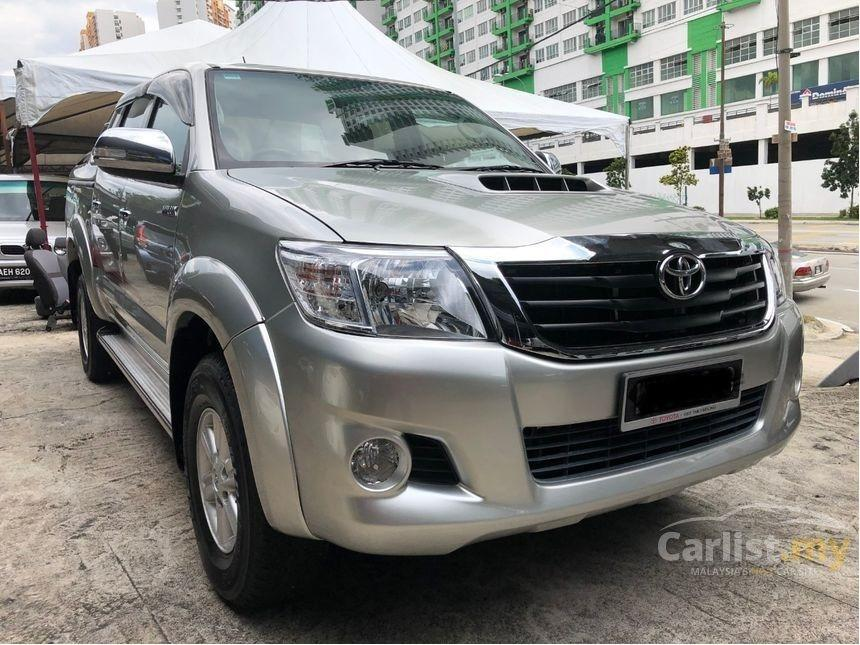 2013 Toyota Hilux 3.0 G VNT One Owner Reverse Camera Alpha Boot Cover     http://wasap.my/601110315793/HiluxGvnt2013