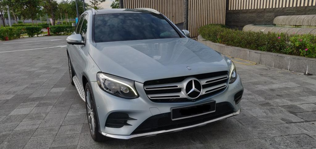 2017 Mercedes Benz GLC250 4MATIC (CKD) 2.0 (A) Tip Top Condition