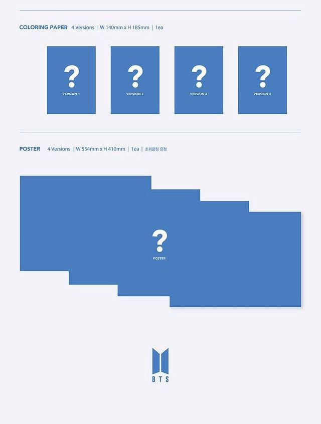 [ Pre-Order / MY GO ] BTS Map Of The Soul : 7 Albums