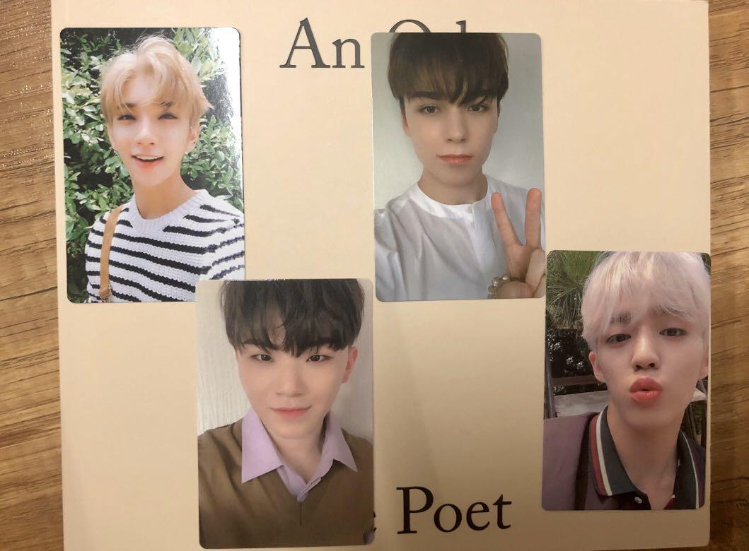 [ wtt / wts ] seventeen svt an ode 3rd album photocard inclusions