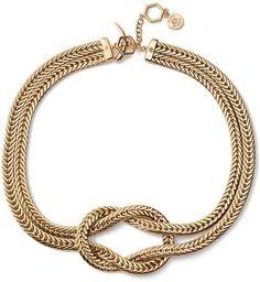 Beautiful eye-catching Tory Burch necklace on sale!
