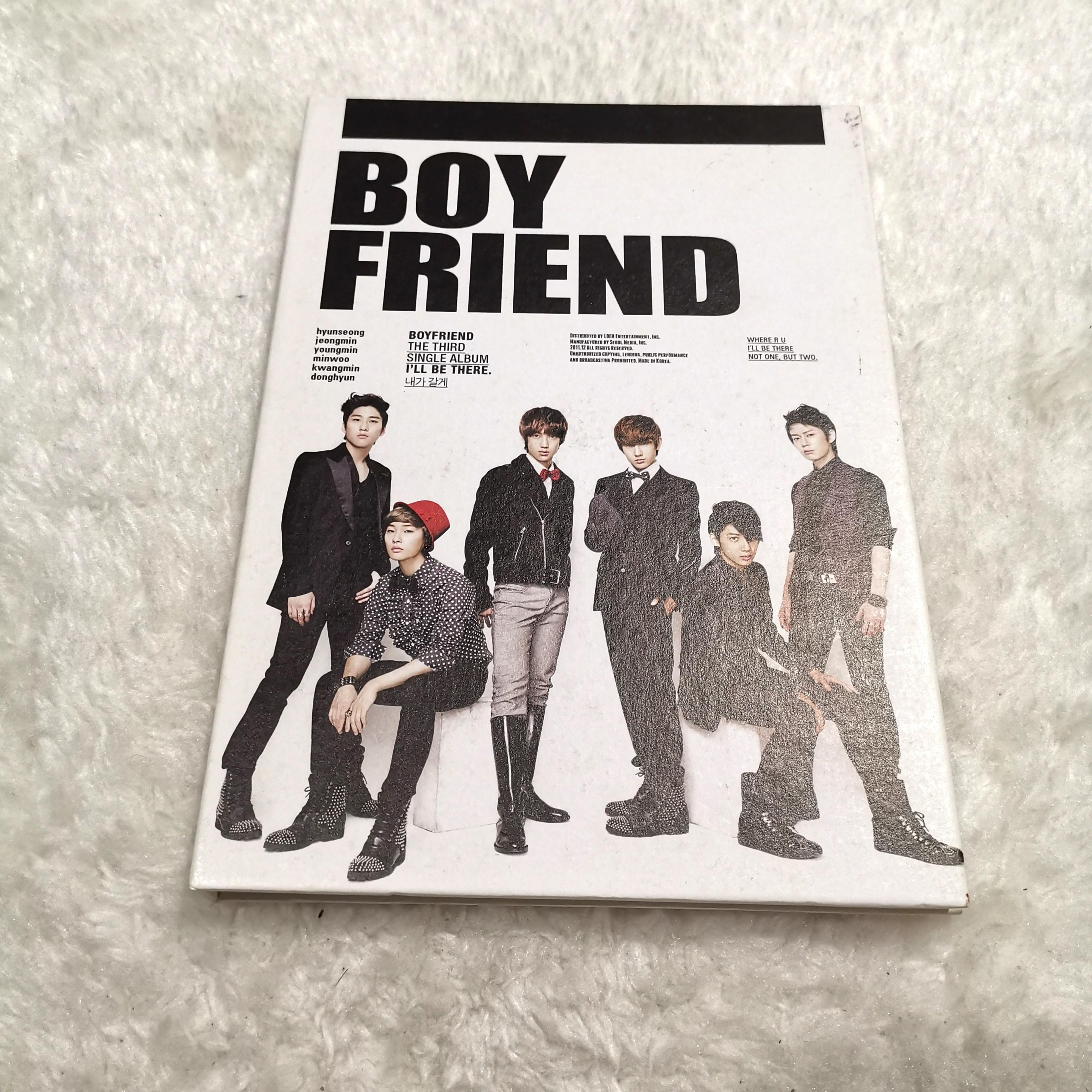 [PRICE REDUCED] BOYFRIEND THE THIRD SINGLE ALBUM - I'LL BE THERE