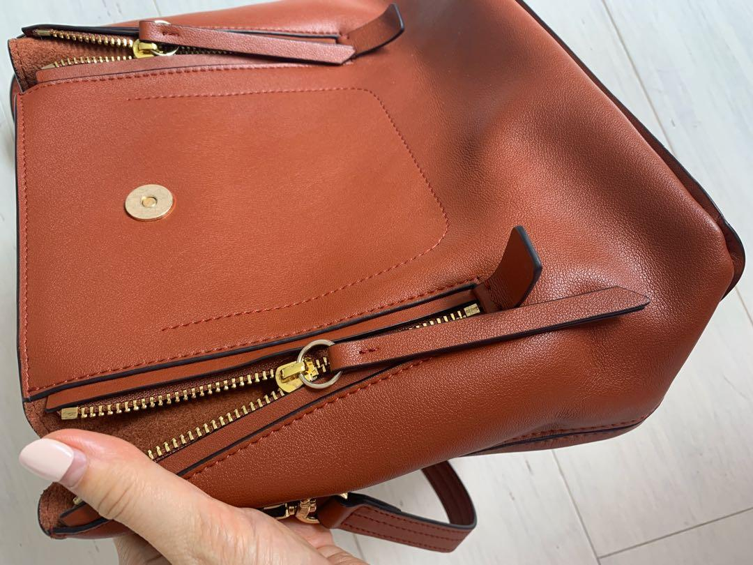 Chloé's 'Faye' Textured Leather And Suede Backpack bag