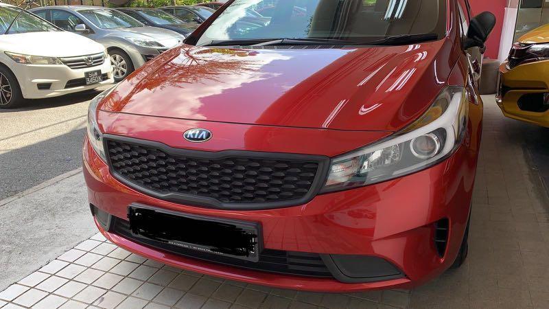 CNY Car Rental - 22/1/20 to 31/1/20, Kia K3, $800 - 10 Days Rental