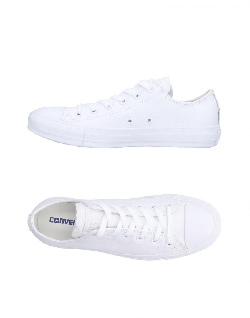 Converse white shoes, Men's Fashion