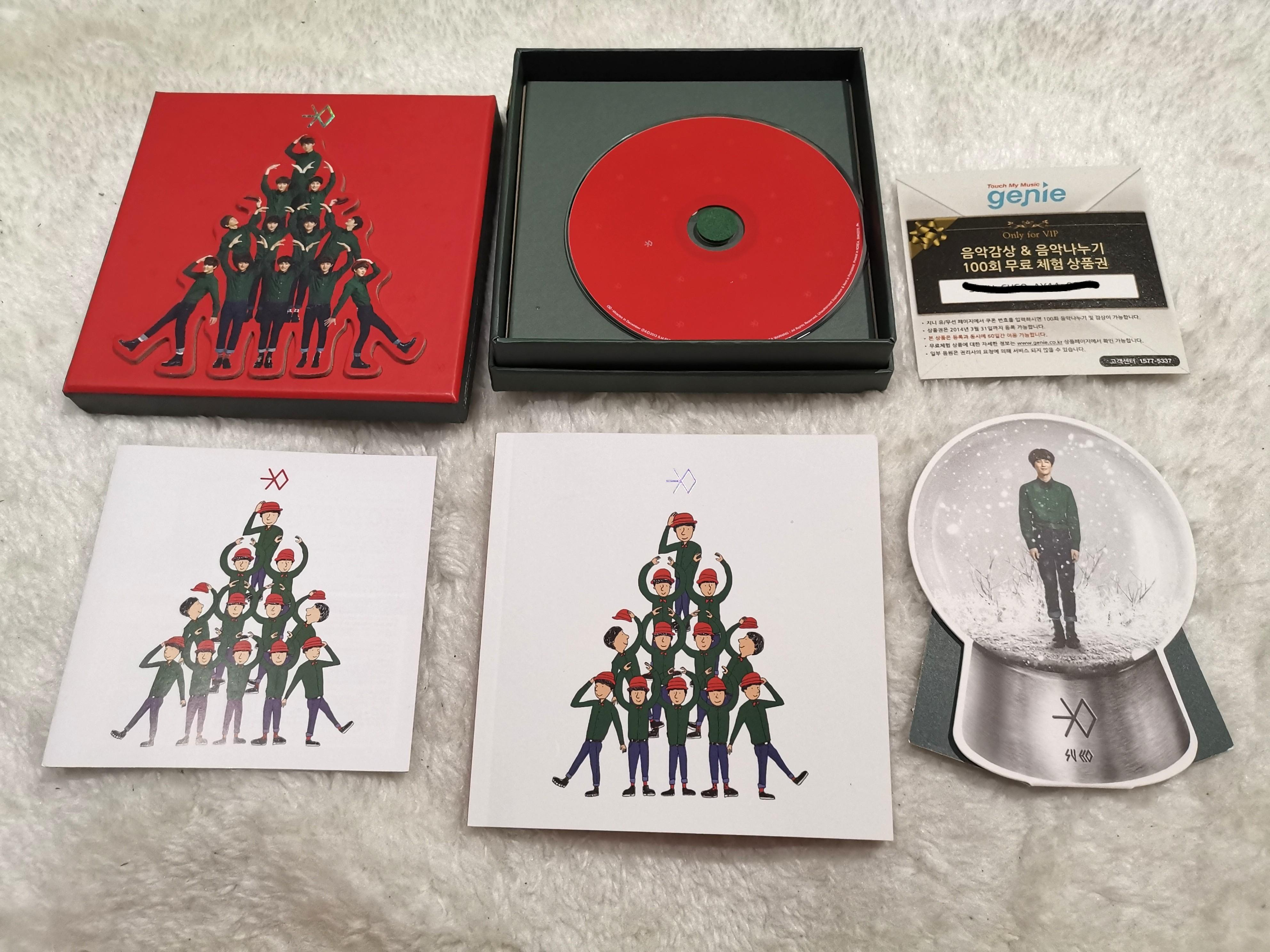 [PRICE REDUCED] EXO ALBUM MIRACLES IN DECEMBER CHINESE VERSION