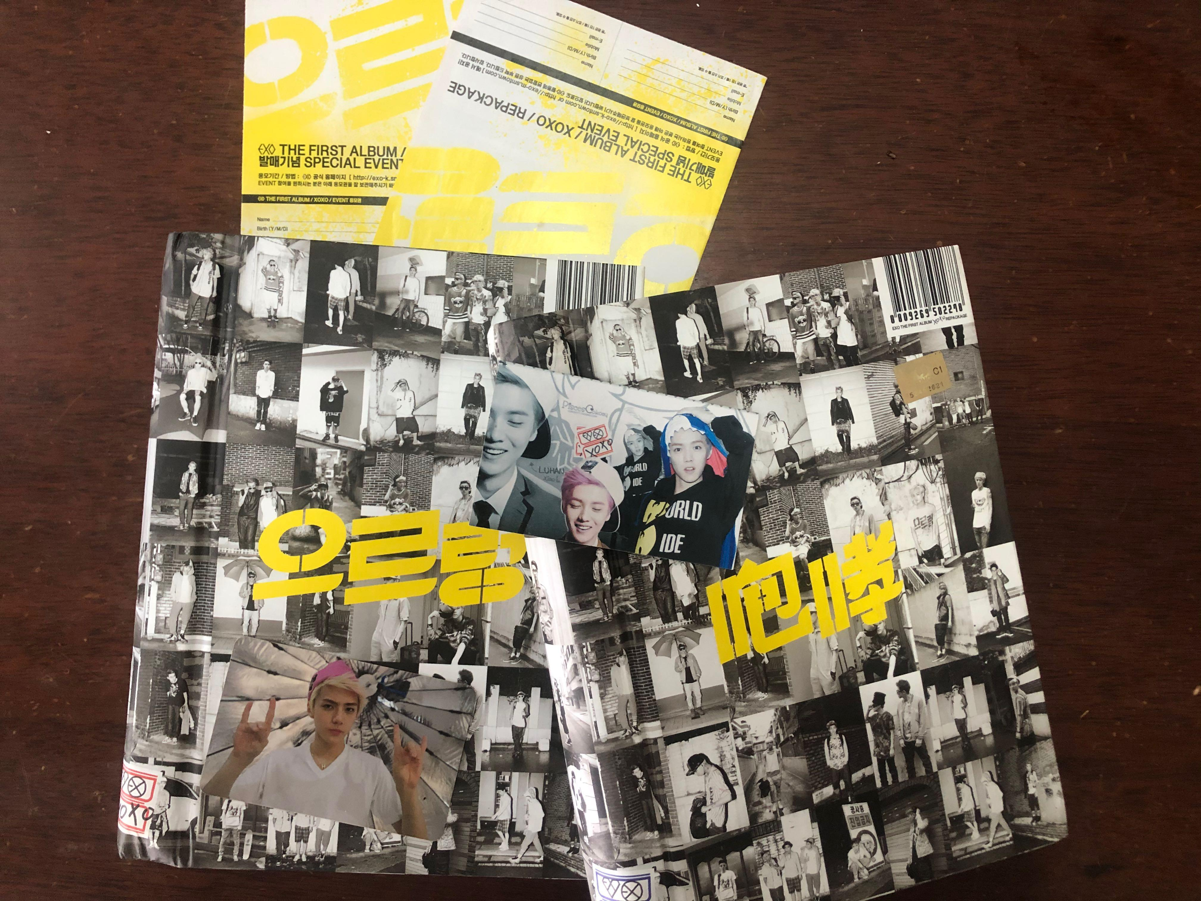 EXO Growl album [100% Original] [Chinese Ver] [ Korean Ver]