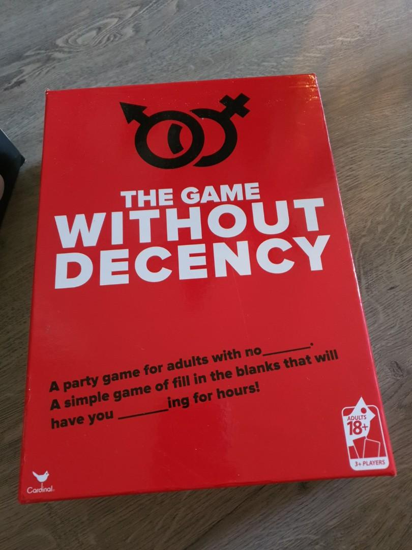 Game Without Decency Toys Games Board Games Cards On Carousell