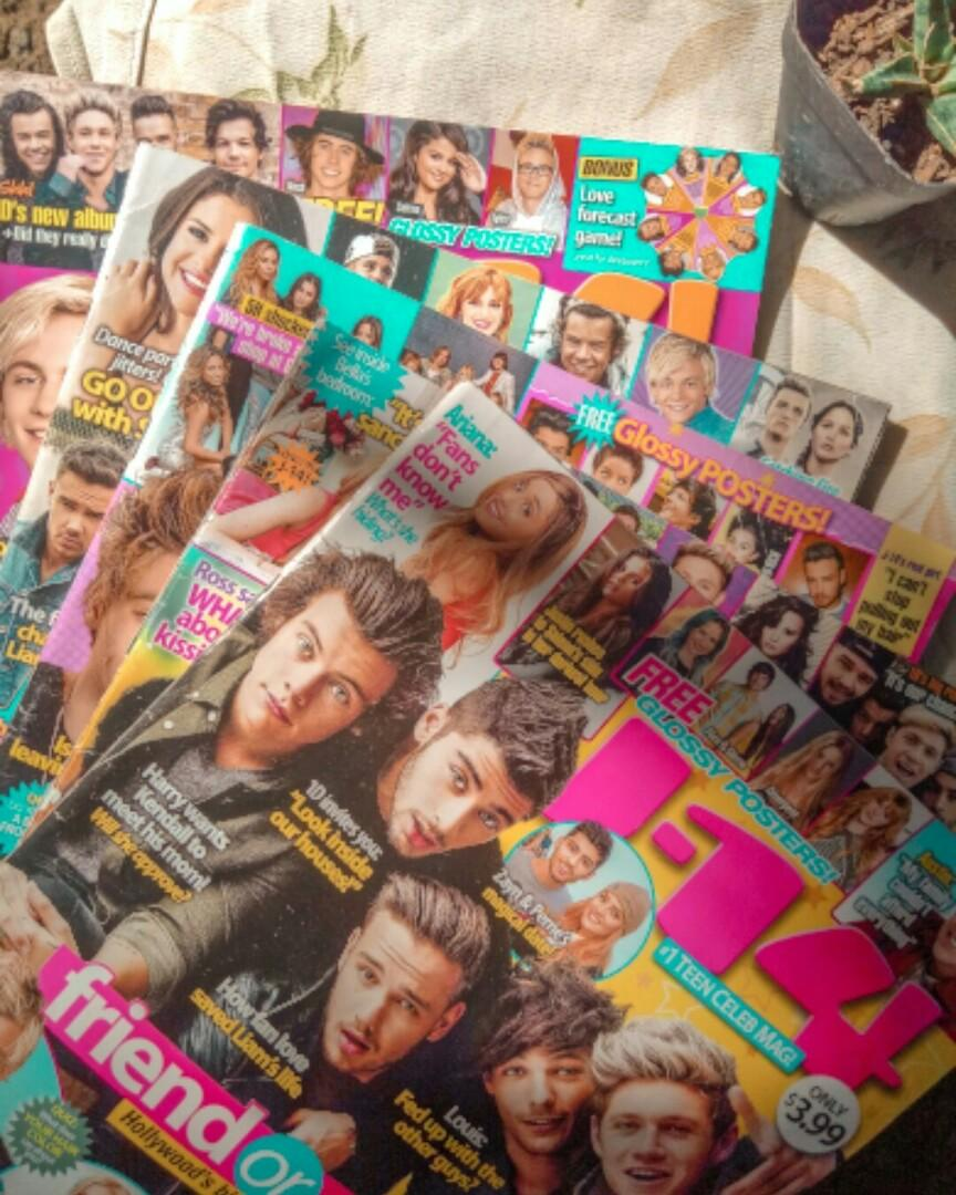 J-14 Magazines bundle (US Teen Mags with exclusive posters inside)