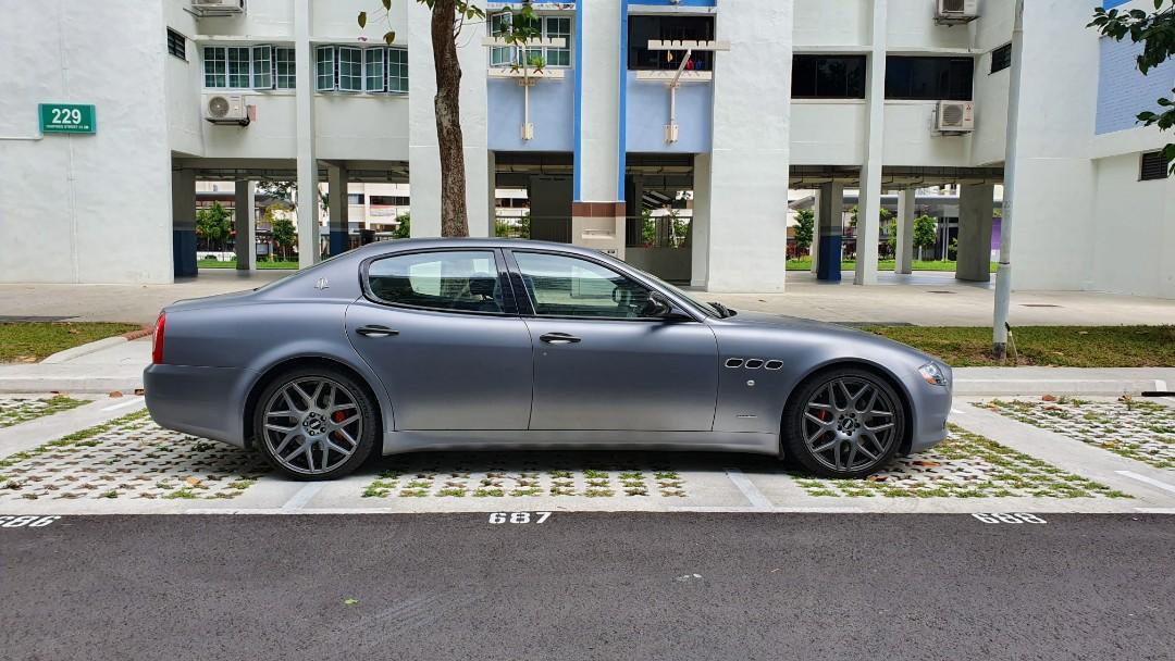 Maserati Quattroporte Sport GTS Auto