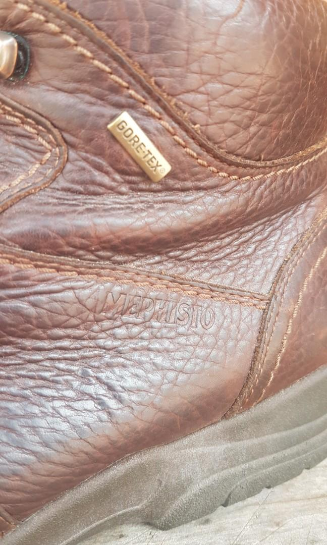 Mephisto Goretex Brown Leather Boots 11US Waterproof