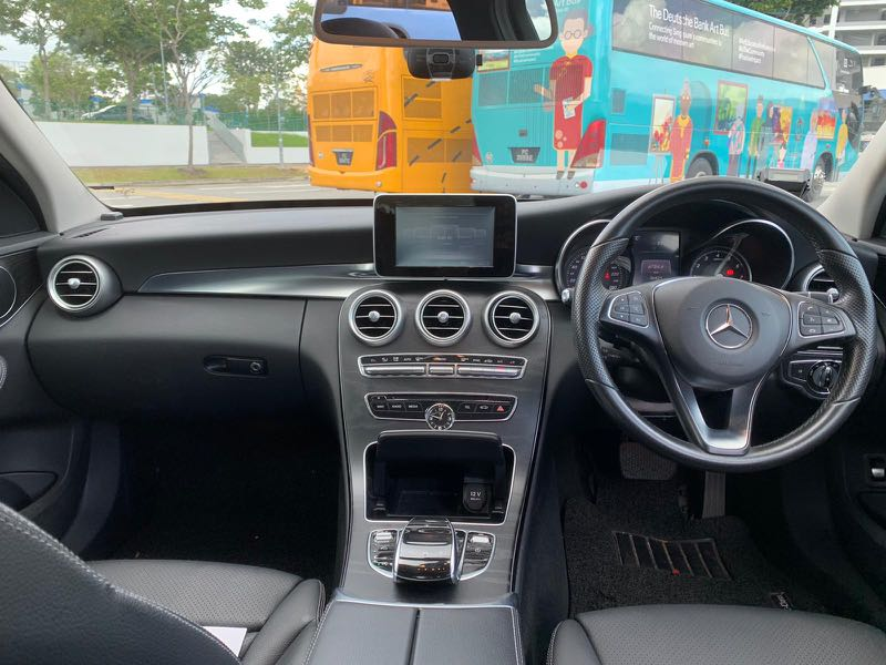 Mercedes Benz C200 Facelift 2016 Model