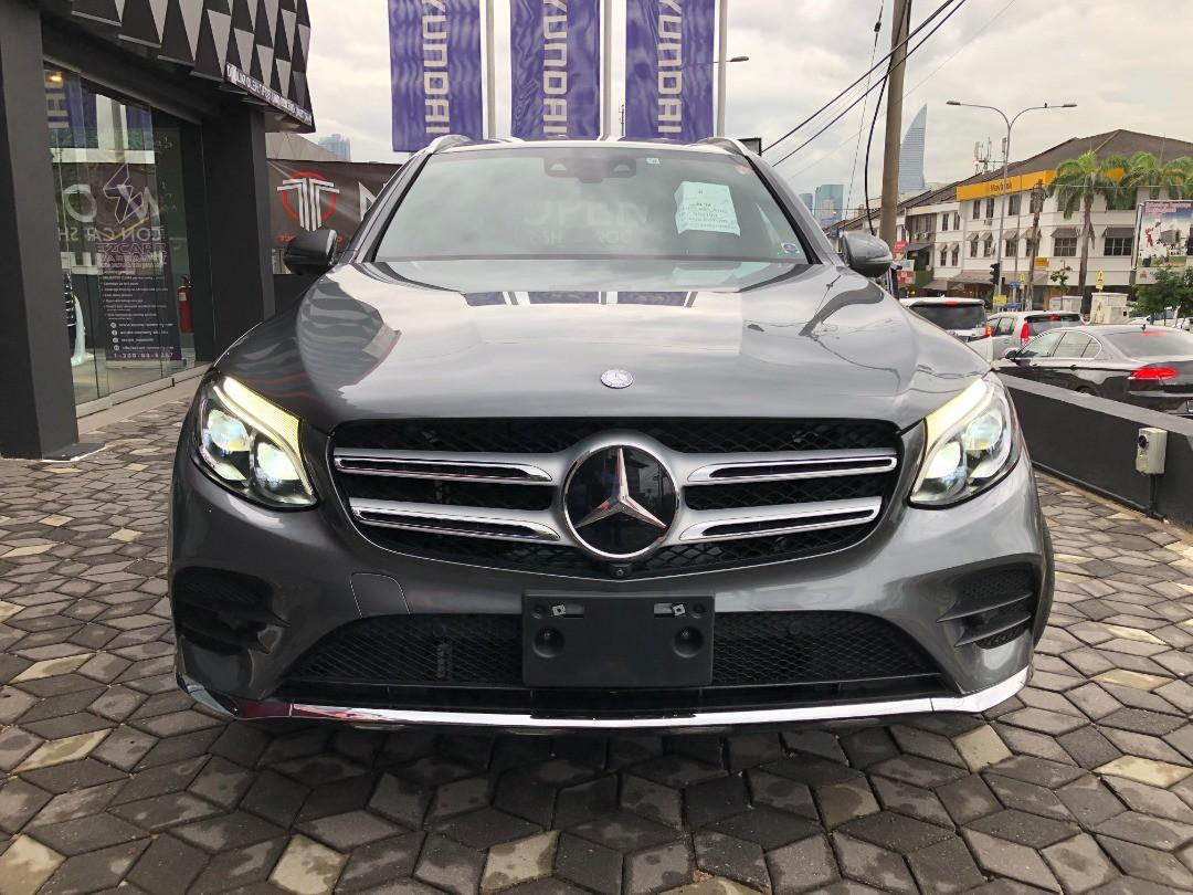 Mercedes Benz GLC 250 AMG 2.0 4matic sport  year 2016