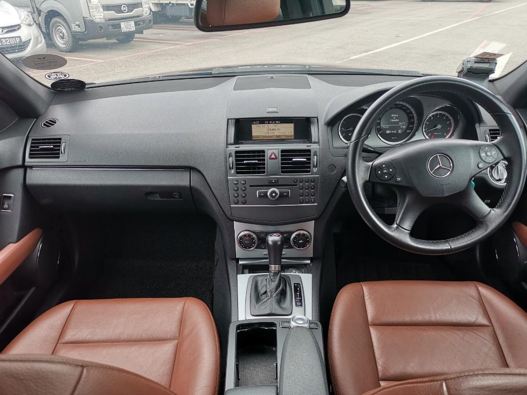 Mercedes-Benz C180K for grab and gojek car rental