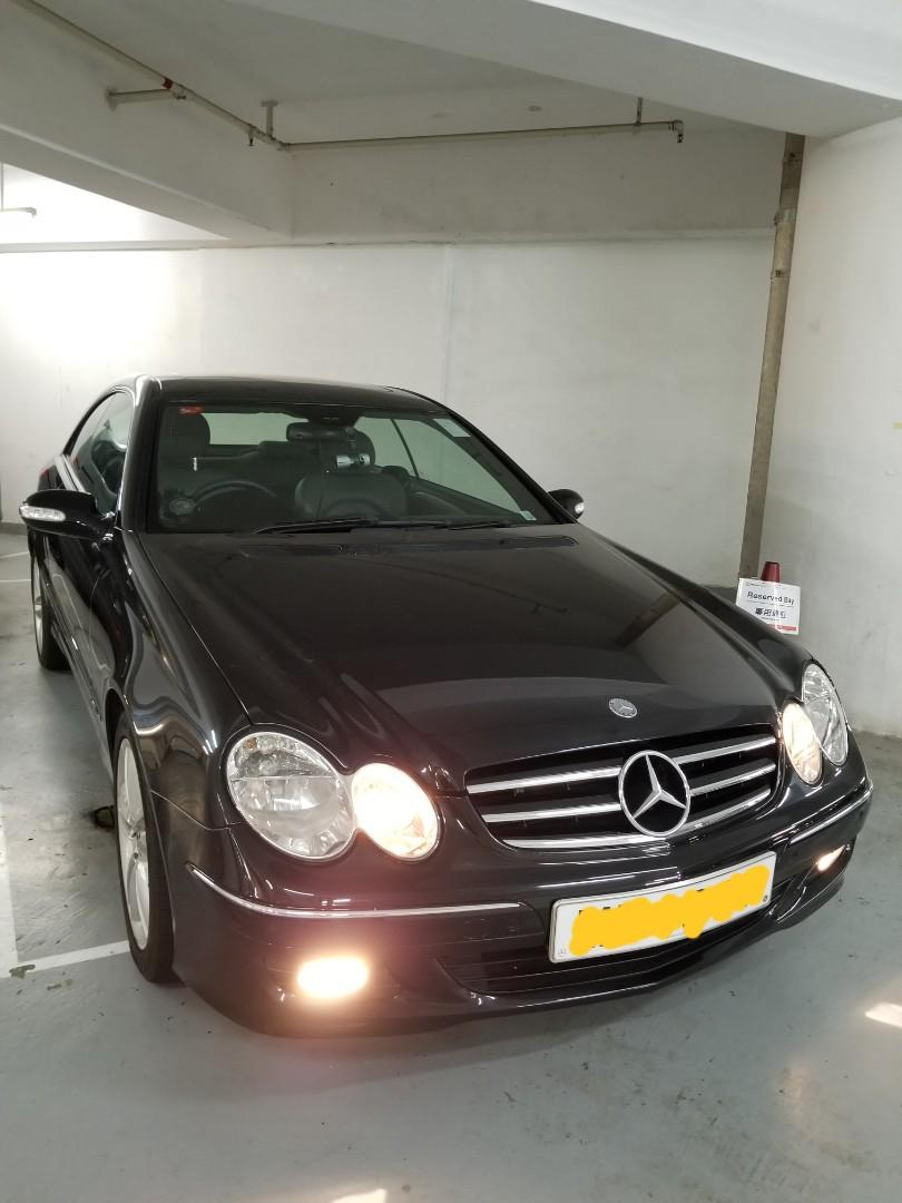 Mercedes-Benz CLK200 Kompressor Coupe (A)
