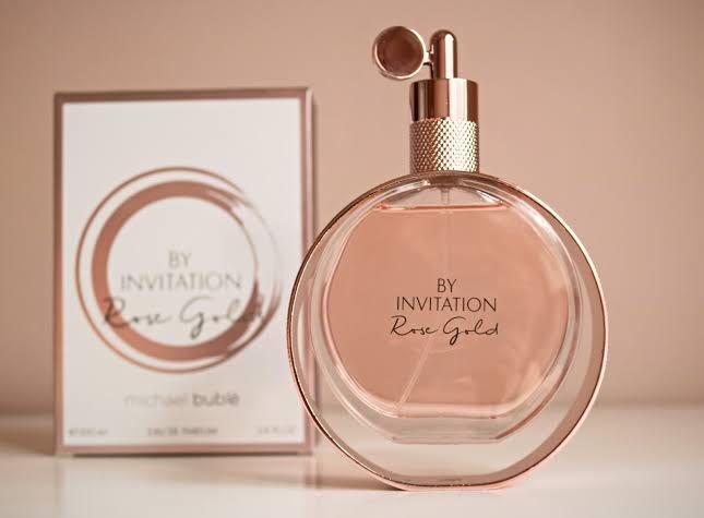 Michael Buble By Invitation Rose Gold Eau de Parfum 100ml spray
