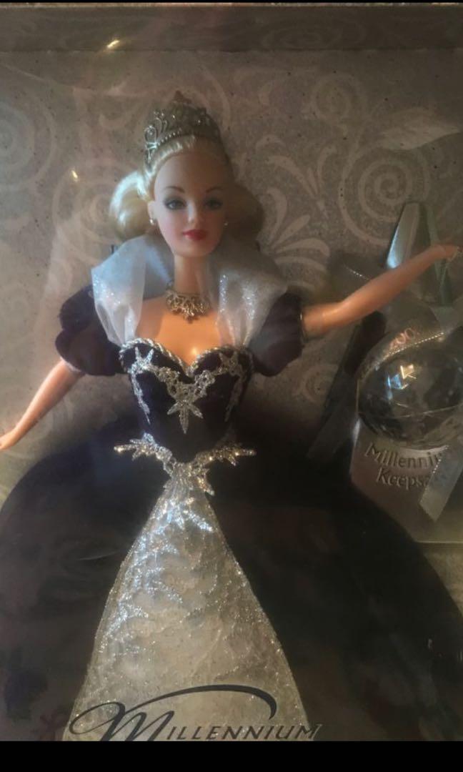 Millennium Princess Barbie Limited Edition  Mattel plastic on the box is broken