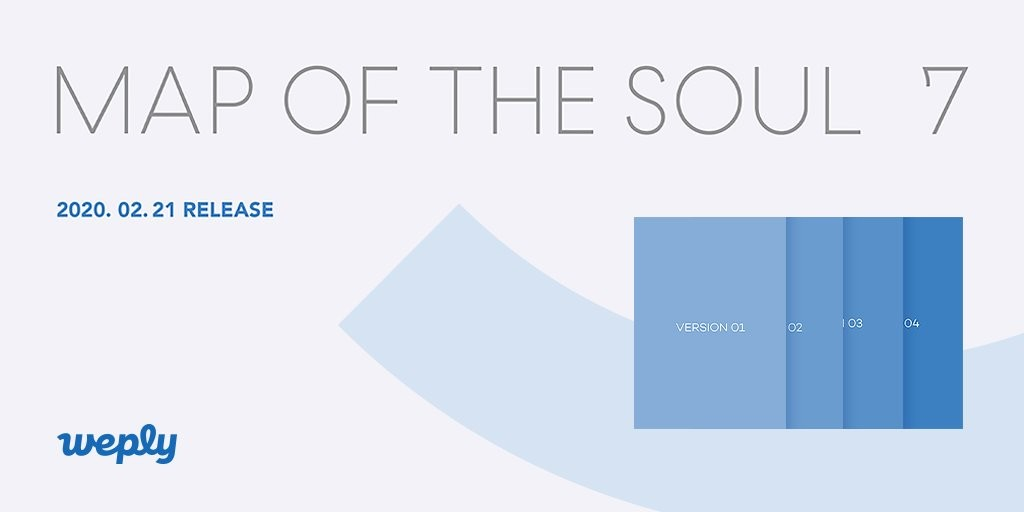 [MYGO/direct shipping ] BTS album Map of the Soul 7