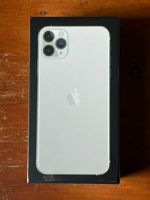 New & Sealed iPhone 11 Pro Max 256GB (Unlocked) Silver