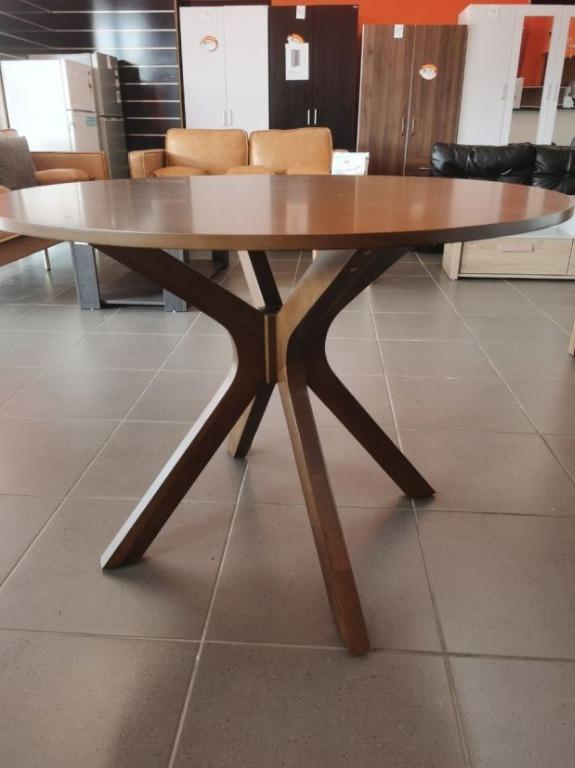NEW PRODECUT!!!! GORDON DINING TABLE WITH 4 CHAIRS(WALNUT) ----- Only 10 Sets