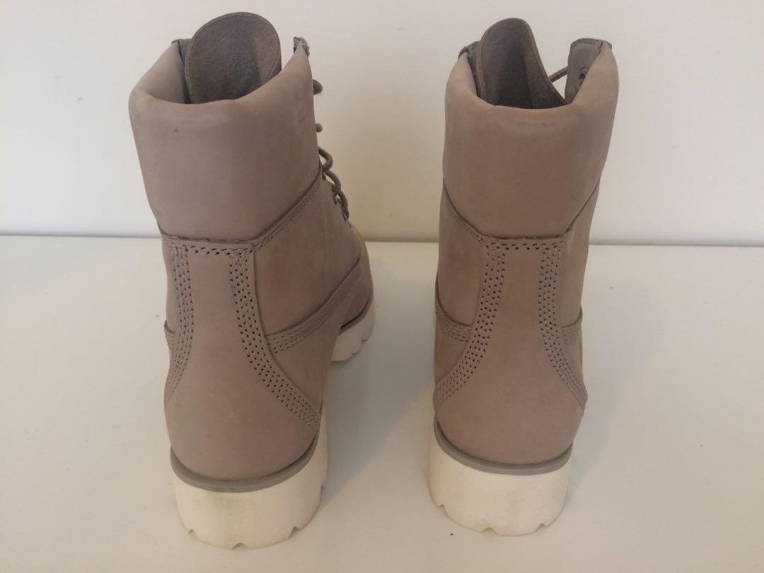 New Timberland Boots Cashmere Hiking Shoes Ladies Size 8 8.5 9