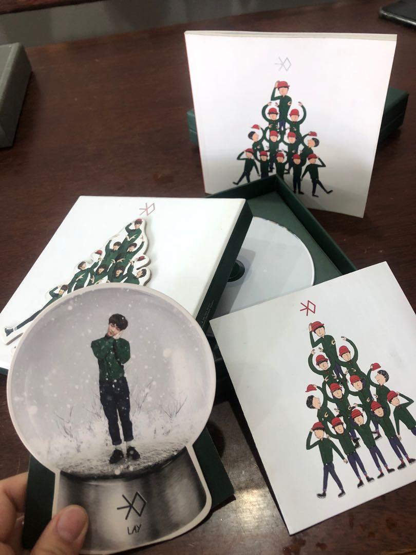 Official Album EXO Miracle in December (Chinese Ver & Korean Ver) 100% Original