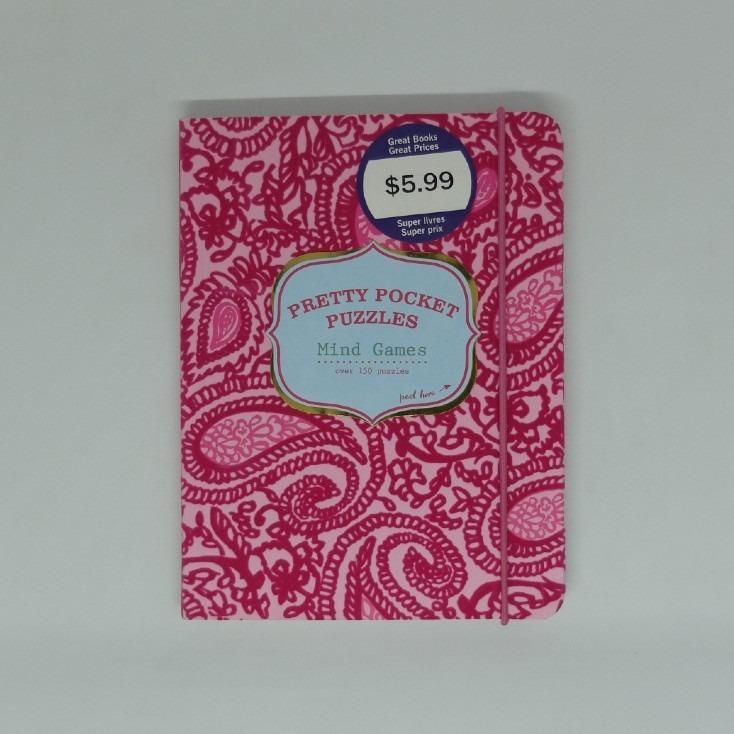 Pretty Pocket Puzzles: Mind Games (Over 150 Mind Games - Bonnie Marcus Collection)