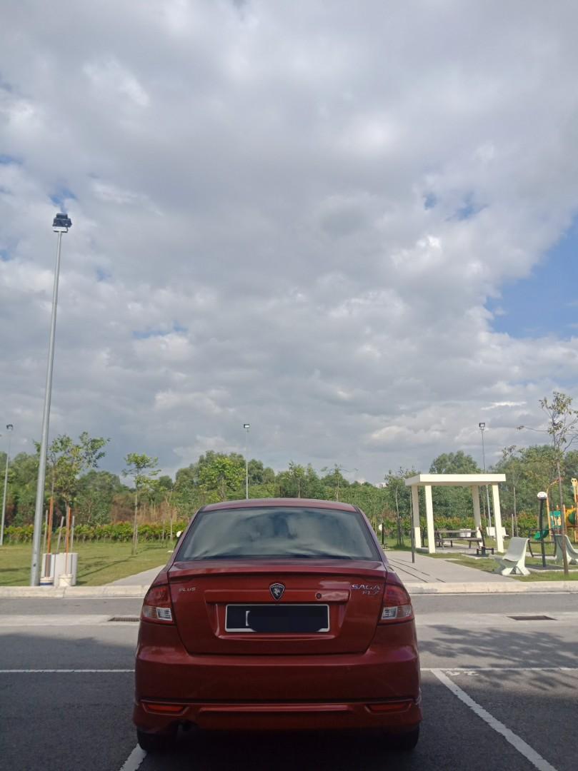 Proton Saga SV 1.3 (A) Kereta Sewa Murah Selangor KL